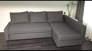friheten corner sofa bed with storage skiftebo dark gray review
