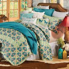 Twin Horse Bedding by Spring Quilt Bedding Collection