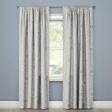 tile medallion curtain panel gray threshold target