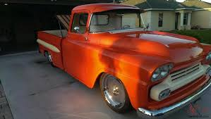 100 65 Gmc Truck 1959 GMC Apache Orange Crush