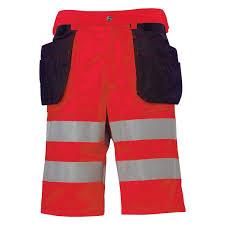 waterproof shorts high visibility polyester nylon
