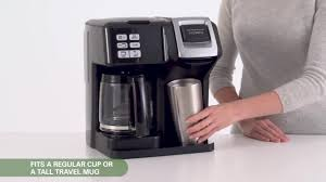 Watch The Video For Hamilton Beach FlexBrew 2 Way Coffee Maker