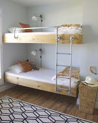 Jeromes Bunk Beds by Great Bunks And I Love The Bedding Folded At The Foot Of The Bed