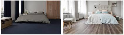 schlafzimmer boden ideen vinylboden tarkett