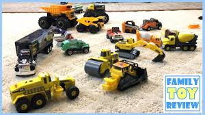 Construction Trucks For Kids Construction Toys At Job Site ...