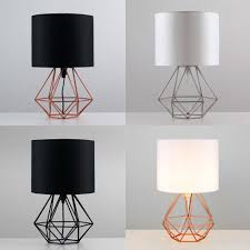 Set Of Small Table Lamps by Geometric Wire Table Lamp Best Inspiration For Table Lamp