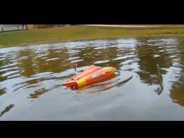rc boat adventure recoil 17 hobrizon hobby rippin through local
