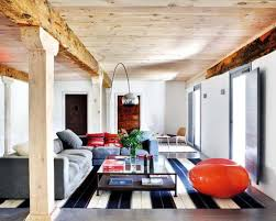 Image Of Modern Rustic Living Room Interior