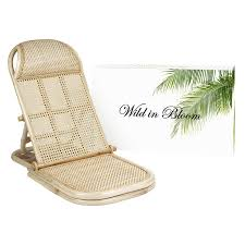 Rattan Folding, Portable Beach Chair, Wicker, Cane, Bamboo Lounger. Rattan  Lawn, Floor, Pool Lounger, Sunbed, Deck Chair Amazoncom Wwwlaurelcrowncom French Country Cane Chair Vintage Josef Hoffman Bentwood Prague 811 Ding Set Cane Back Ding Chairs Musicatono Woman In Real Lifethe Art Of The Everyday Antique Chairs Wooden Baby High With Seat Whats It Worth Carriage A Common Colctible But Victorian Pair Tall Early 1900s Childs Wood Painted Vintage Oak Rocker Press Seat Seating Kinder Modern Boudoir Style Astonishing Fniture