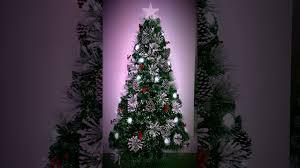 Mini Fibre Optic Christmas Tree by Christmas Tree World Snowy Led Fibre Optic Tree Youtube