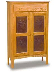 Amish Two Door Pie Safe Amish Dining Room Furniture