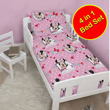 Minnie Mouse Bedroom Decor South Africa by Disney U0026 Character 4 In 1 Toddler Bedding Bundles Duvet Pillow