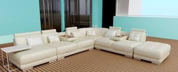 canapé d angle en cuir italien modulable et design belem sofa