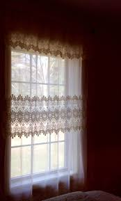 Lace Priscilla Curtains With Attached Valance by 25 Best Curtains Images On Pinterest Voile Curtains Window