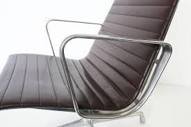 bureau herman miller seating charles eames office armchair ae115 brown model by