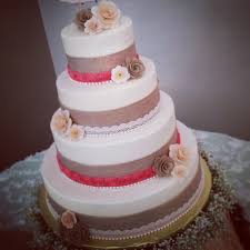Four Tier Rustic Elegance