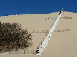 les escaliers photo de dune du pilat la teste de buch tripadvisor