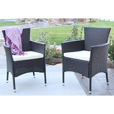 espresso wicker porch swing with brown cushion kirklands