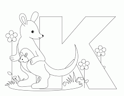 Free Printable Coloring Pages Letter K