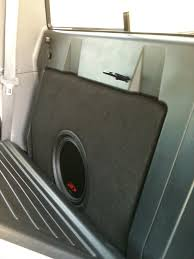2013 Toyota Tacoma With Custom Subwoofer Enclosure - YouTube 12 Inch Subwoofer Box For Single Cab Truck Basic Does It Pound Diy Home Depot 5 Gallon Bucket Using A Dodge Ram Quad Cab Speaker 2002 To 2013 Youtube Custom Boxes Cars Best Resource 022016 Chevy Avalanche Or Cadillac Ext Ported Sub 2x10 Car Jl Audio Header News Introduces Insanely Powerful 15 Woofer Enclosure Bass Mdf Black Carpet Boom Van 300tdi Disco Speakers 6x9 Land Rover Forums Goldwood E12sp Vented Cabinet C1500c07a Thunderform Chevrolet Crew Amplified