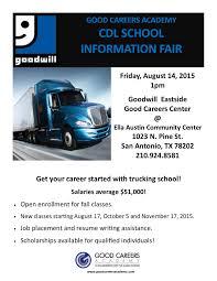 100 Sage Trucking School Good Careers Academy CDL Information Fair
