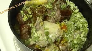 comment cuisiner le gombo recette de cuisine sauce gombo huile de palme how to okra