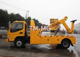 100 Tow Truck In Spanish Durable Hydraulic 6000kg Wrecker Highway City