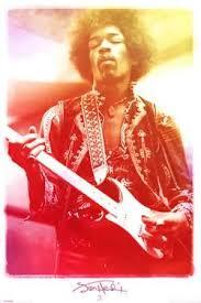 Jimi Hendrix Legendary Music Poster Print