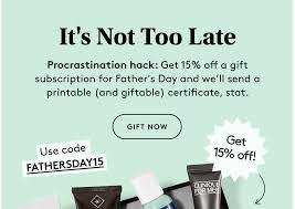 Birchbox Grooming Father's Day Coupon: 15% Off Gift ... Sephora Canada 2019 Chinese New Year Gwp Promo Code Free 10 April Sephora Coupon Promo Codes 2018 Sales Latest Clinique September2019 Get Off Ysl Beauty Us Code Mount Mercy University Ebay Coupon Codes And Deals September Findercom Spend 29 To Get Bonus Uk Mckenzie Taxidermy Code Better Seball Coupons Iphone Upgrade T Mobile Black Friday Deals Live Now Too Faced Clinique Pressed Powder Makeup Compact Powder 04