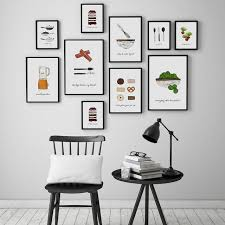 Beautifully Idea Prints For Dining Room Abstract Kitchenware Canvas Painting Posters Wall Art Pictures Kitchen Modern Home Decor