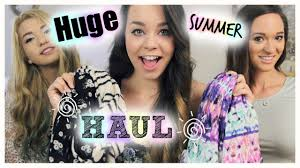 Huge Summer Clothing Haul Forever 21 Urban Outfitters Cotton On More