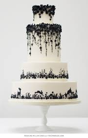 10 Beautiful Black Cakes including Rosalind Miller Cakes
