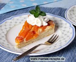 aprikosenkuchen mit marzipan