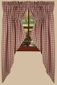 Country Curtains Sturbridge Hours by Barn Red Swag Country Curtains Nana U0027s Farmhouse Nana U0027s Farmhouse