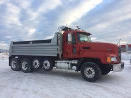 100 Quad Dump Trucks For Sale 2007 Mack CL733 Axle Truck Cummins ISX 565HP