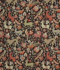 JF Tapestry Fabric Black