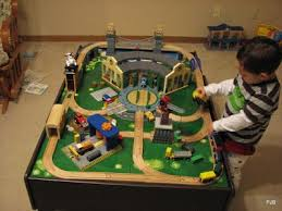train table layouts kid room pinterest train table layout