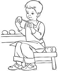 Little Boy Coloring Pages Free Printable For Kids Disney