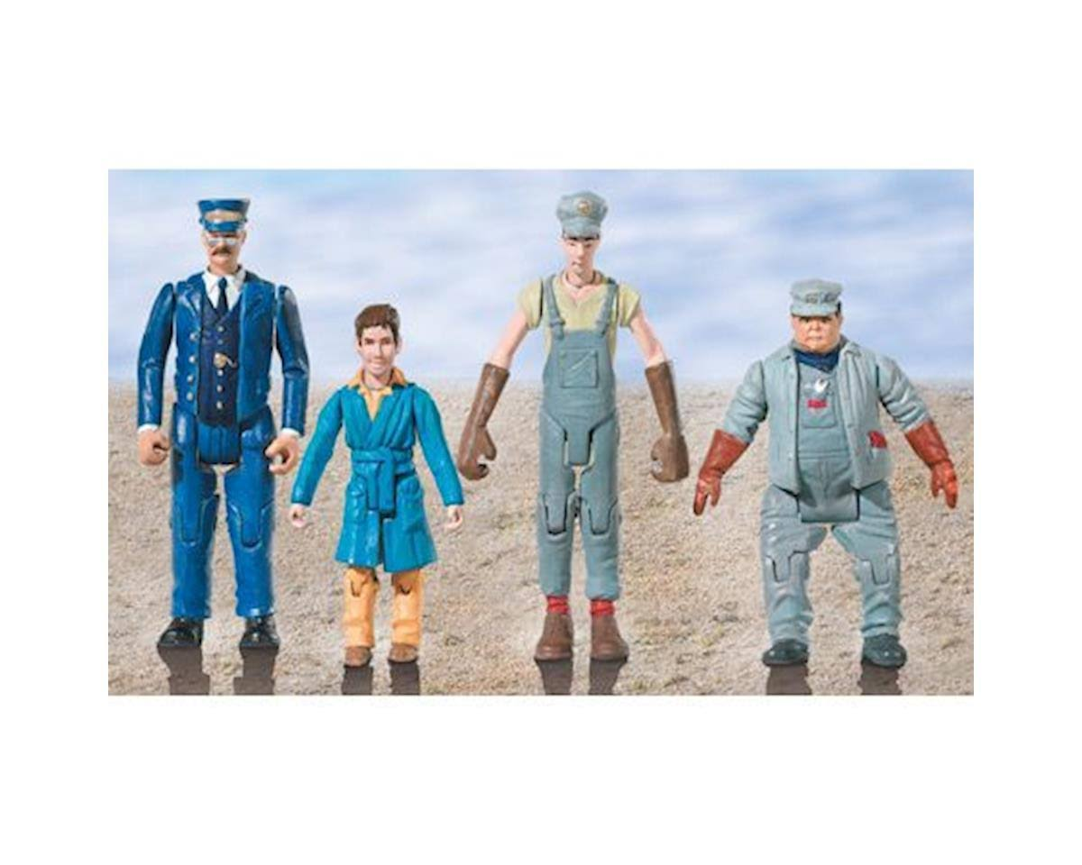 Lionel 624203 The Polar Express Pack - Original People, 4pc