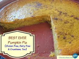 Pumpkin Pie With Gingersnap Crust Gluten Free by Gluten Free Pumpkin Pie Recipes Gluten Free And
