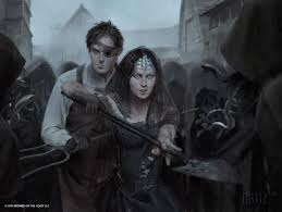 Master Of Cruelties Commander Deck by Gisa And Geralf Eldritch Moon Mtg Art Karla Ortiz Illustration