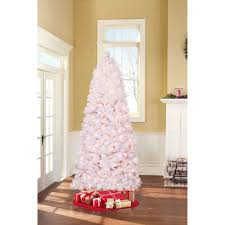 Holiday Time Pre Lit 75 Lenox Pine Artificial Christmas Tree Clear Lights