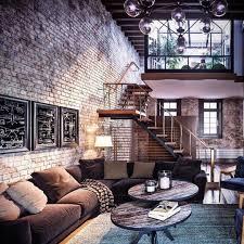 100 Brick Loft Apartments Amazing Loft Design With Exposed Brick In 2019 Design