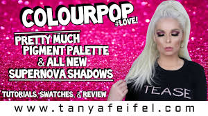 ColourPop Pretty Much Palette & New Supernova Shadows | Tutorial, Swatches,  & Review | Tanya Feifel Huge Colourpop Haul Lipsticks Eyeshadows Foundation Palettes More Colourpop Blushes Tips And Tricks Demo How To Apply A Discount Or Access Code Your Order Colourpop X Eva Gutowski The Entire Collection Tutorial Swatches Review Tanya Feifel Ultra Satin Lips Lip Swatches Review Makeup Geek Coupon Youtube Dose Of Colors Full Face Using Only New No Filter Sted Makeup Favorites Must Haves Promo Coupon