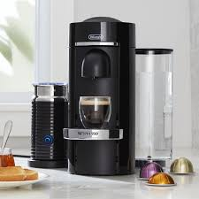 Nespresso R By Delonghi Vertuo Deluxe Plus Black Coffee Maker Bundle