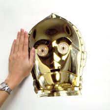 Wall Mural Decals Amazon by Amazon Com Roommates Rmk1591gm Star Wars Classic C3po Peel And