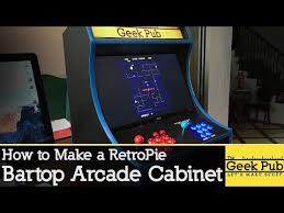 Mini Arcade Cabinet Kit Uk by 7 Fantastic Retropie Game Stations You Can Build This Weekend