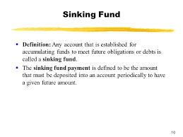 Sinking Fund Formula For Depreciation by Sinking Fund Equation Sinks Ideas