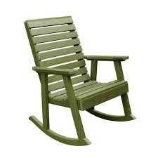 Highwood Weatherly Dried Sage Recycled Plastic Outdoor Rocking Chair ... Colored Rocking Chairs Attractive Pastel Chair Stock Image Of Color Black Resin Outdoor Cheap Buy Patio With Cushion In Usa Best Price Free Adams Big Easy Stackable 80603700 Do It Best Semco Plastics White Semw Rural Fniture Way For Your Relaxing Using Wicker Presidential Recycled Plastic Wood By Polywood Glider Rockers Sale Small Oisin Porch Reviews Joss Main Plow Hearth 39004bwh Care Rocker The Strongest Hammacher Schlemmer Braided Rattan Effect Tecoma Maisons