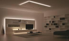 licht im wohnzimmer bringt die perfekte stimmung für einen